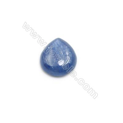Cabochons en Kyanite naturelle  goutte  Taille 12x15mm 10pcs/paquet