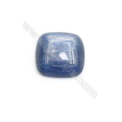 Cabochons en Kyanite naturelle  carré  Taille 14x14mm 10pcs/paquet